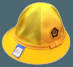 一宮市内の保育園用の通園帽